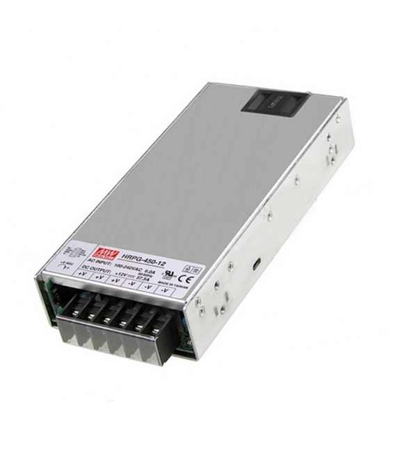 HRPG-450-15, 15VDC 30A 450W SMPS, MeanWell