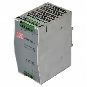 DRH-120-48, 48VDC 2.5A Ray Montaj Güç Kaynağı, MeanWell