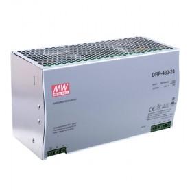 DRP-480-48, 48VDC 10.0A Ray Montaj Güç Kaynağı, MeanWell