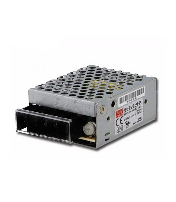 RS-15-5, 5VDC 3.0A 15W SMPS, MeanWell