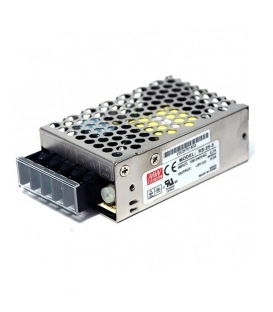 RS-25-12, 12VDC 2.1A 25W SMPS, MeanWell