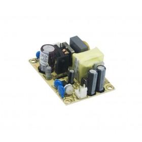 EPS-15-48, 48VDC 0.313A 15W Açık Tip Güç Kaynağı, MeanWell