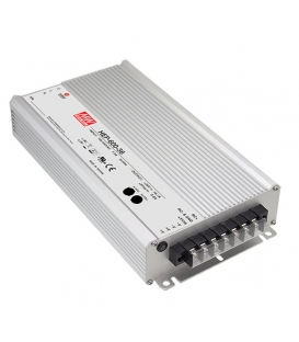 HEP-600-12, 12VDC 40.0A 480W SMPS, MeanWell