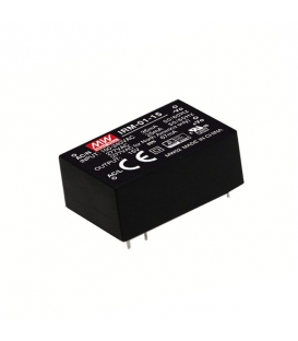 IRM-01-3.3, 3.3VDC 1W 0.30A PCB Tip AC/DC, MeanWell