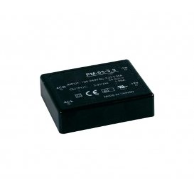 PM-05-15, 15VDC 0.33A 5W Medikal PCB Tip AC/DC, MeanWell