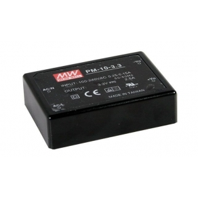 PM-10-24, 24VDC 0.42A 10W Medikal PCB Tip AC/DC, MeanWell