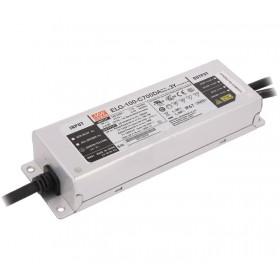 ELG-100-C500DA, 500mA 100W DALI Dimedilebilir LED Sürücü, MeanWell