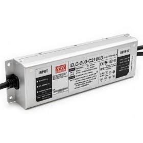 ELG-200-C1400B, 1400mA 200W Dimedilebilir LED Sürücü