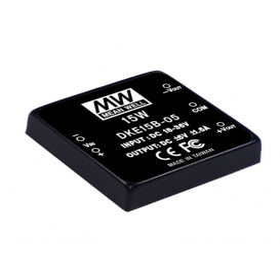 DKE15A-05, 9-18Vin ±5Vout ±1500mA 15W DC/DC Konvertör