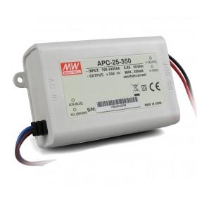 APC-25-350, 350mA 25W Sabit Akım LED Sürücü
