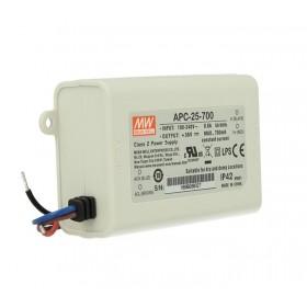APC-25-700, 700mA 25W Sabit Akım LED Sürücü