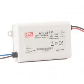 APC-35-350, 350mA 35W Sabit Akım LED Sürücü