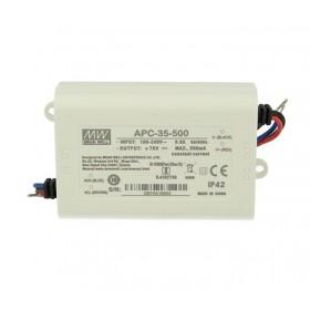 APC-35-500, 500mA 35W Sabit Akım LED Sürücü