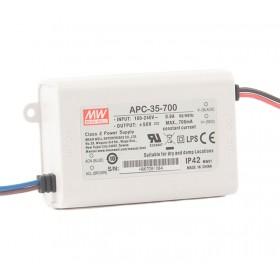 APC-35-700, 700mA 35W Sabit Akım LED Sürücü