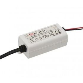 APV-8E-24, 24VDC 0.34A 8W LED Sürücü, Mean Well