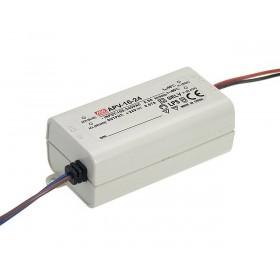 APV-16-15, 15VDC 1.00A 16W LED Sürücü, Mean Well