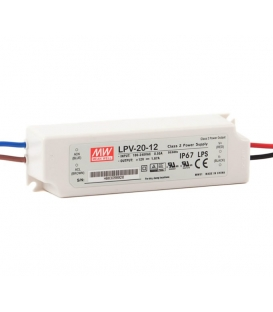 LPV-20-5, 5VDC 3.00A Sabit Voltaj LED Sürücü, Mean Well