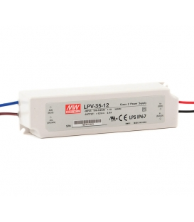 LPV-35-36, 36VDC 1.00A Sabit Voltaj LED Sürücü, Mean Well