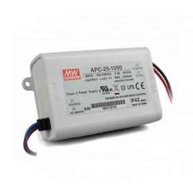 APC-25-1050, 1050mA 25W Sabit Akım LED Sürücü, Mean Well