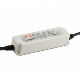 LPF-16-15, 15VDC 1.07A Voltaj Ayarlı LED Sürücü, Mean Well