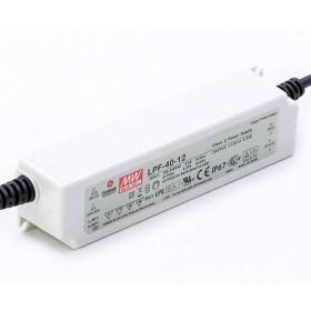 LPF-40-30, 30VDC 1.34A Voltaj Ayarlı LED Sürücü, Mean Well