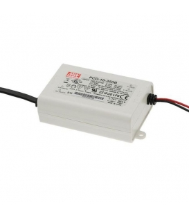 PCD-16-1050B, 1050mA 16W Sabit Akım Dimli LED Sürücü, Mean Well