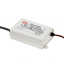 PCD-25-700B, 700mA 25W Sabit Akım Dimli LED Sürücü, Mean Well