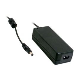 GSM60B24-P1J, 24VDC 2.5A 60W Priz Tip Medikal Adaptör, Mean Well
