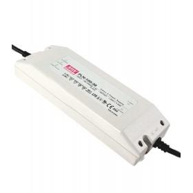 PLN-100-15, 15V 5A 75W Ayarlanabilir LED Sürücü, MeanWell