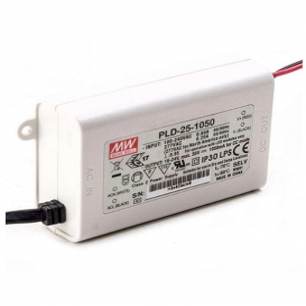 PLD-25-1050B, 1050mA 25W Sabit Akım LED Sürücü, Mean Well
