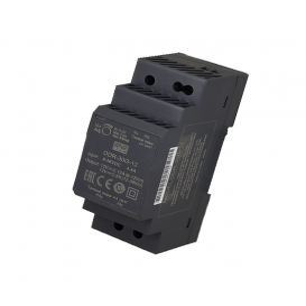 DDR-30L-12, 12VDC 2.5A Ray Montaj DC/DC Konvertör, MeanWell