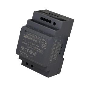 DDR-60G-12, 12VDC 5A Ray Montaj DC/DC Konvertör, MeanWell