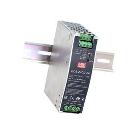 DDR-240C-24, 24VDC 10A Ray Montaj DC/DC Konvertör, MeanWell