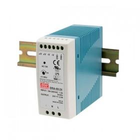 DRA-60-12, 12VDC 5A 60W Ray Montaj SMPS Güç Kaynağı, MeanWell
