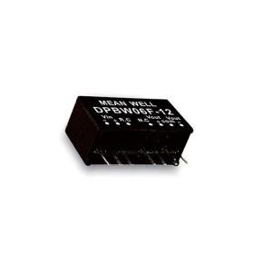 DPBW06F-15, 9-36Vin ±15Vout ±200mA 6W DC/DC Konvertör, MeanWell