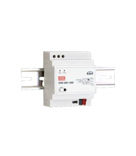 KNX-40E-1280, 30VDC 1.28A 38.4W Ray Montaj SMPS, MeanWell