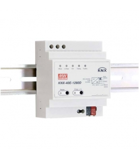 KNX-40E-1280D, 30VDC 1.28A 38.4W Ray Montaj SMPS, MeanWell