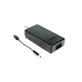 MES50A-3P1J, 12VDC 4.16A 50W Priz Tip Medikal Adaptör, Mean Well