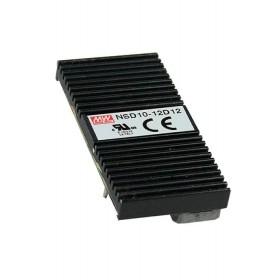 NSD10-12D12, 12Vin ±12Vout ±0.42A 10W DC/DC Konvertör, Mean Well