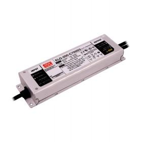 ELG-200-C700D2, 700mA 200W Zaman Ayarlı Dimedilebilir LED Sürücü, MeanWell