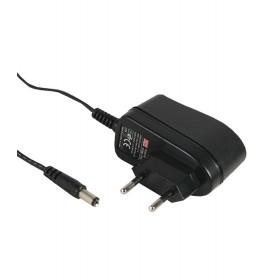 GS06E-2P1J, 9VDC 0.66A 6W Priz Tipi Adaptör, Mean Well