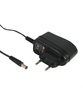 GS06E-3P1J, 12VDC 0.5A 6W Priz Tipi Adaptör, Mean Well