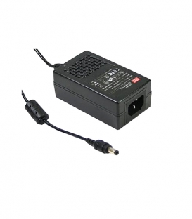 GS25A05-P1J, 5VDC 4.00A Priz Tip Adaptör, Mean Well