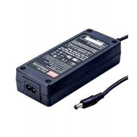 GSM90B24-P1M, 24VDC 3.75A 90W Priz Tip Medikal Adaptör, Mean Well
