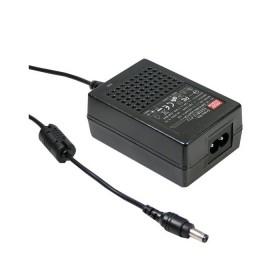 GST18B48-P1J, 48VDC 375mA 18W Priz Tip Adaptör, Mean Well