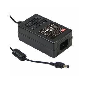 GST25A24-P1J, 24VDC 1.04A Priz Tip Adaptör, Mean Well
