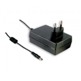GST25E24-P1J, 24VDC 1.04A 25W Priz Tip Adaptör, Mean Well