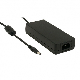 GST90A24-P1M, 24VDC 3.75A 90W Priz Tip Adaptör, Mean Well