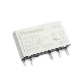 APF30324, 24VDC 6A SPDT (1 Form C) Röle