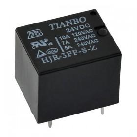 HJR-3FF-S-Z/24V, 24VDC 7A 5 Pin SPDT (1 Form C) Röle